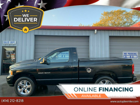2002 Dodge Ram Pickup 1500 for sale at Autoplex Milwaukee in Milwaukee WI