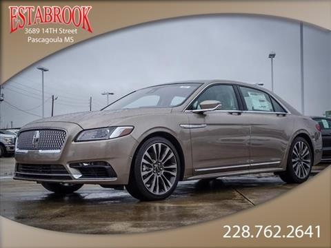 2019 Lincoln Continental for sale in Pascagoula, MS