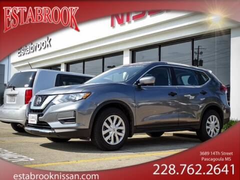 2018 Nissan Rogue S for sale at ESTABROOK FORD NISSAN in Pascagoula MS