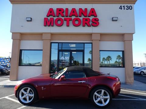 2009 Pontiac Solstice for sale in Las Vegas, NV
