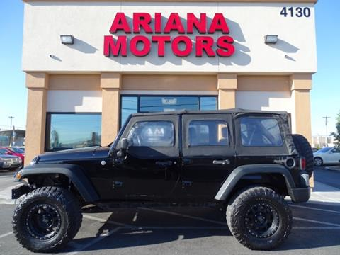 2008 Jeep Wrangler Unlimited for sale in Las Vegas, NV