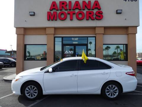 2015 Toyota Camry for sale in Las Vegas, NV