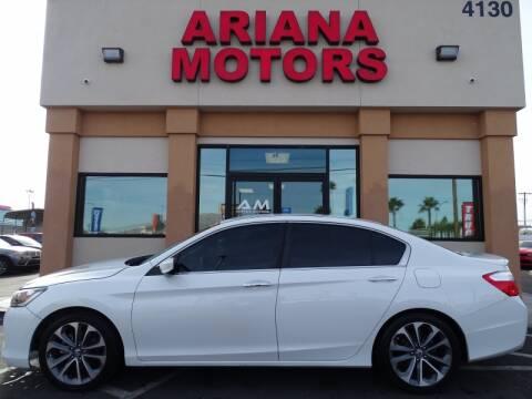 2014 Honda Accord for sale in Las Vegas, NV