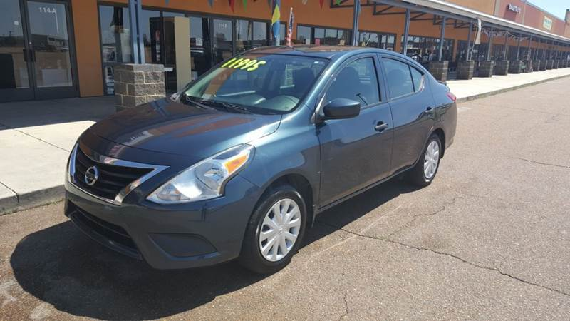 2016 Nissan Versa for sale in Robinsonville, MS