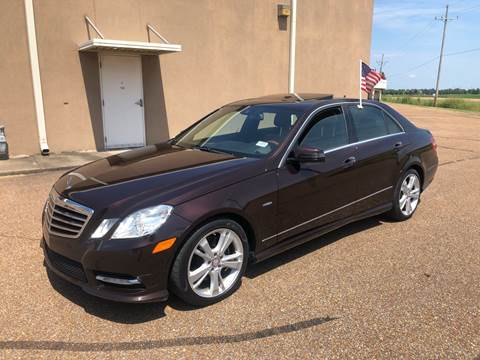 2012 Mercedes-Benz E-Class for sale in Robinsonville, MS