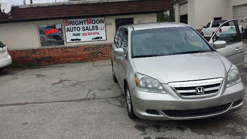 2007 Honda Odyssey For Sale At Brightmoon Auto Sales LLC In Louisville KY