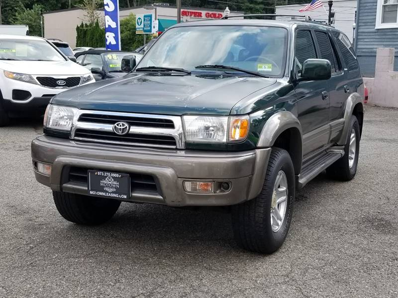 1999 Toyota 4Runner For Sale At Motown Leasing In Morristown NJ