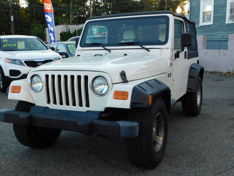 2004 Jeep Wrangler For Sale At Motown Leasing In Morristown NJ