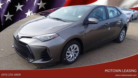 2018 Toyota Corolla for sale at Motown Leasing in Morristown NJ