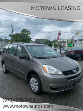2004 Toyota Sienna for sale at Motown Leasing in Morristown NJ