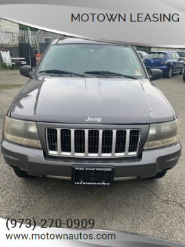 2004 Jeep Grand Cherokee for sale at Motown Leasing in Morristown NJ