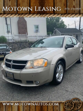 2009 Dodge Avenger for sale at Motown Leasing in Morristown NJ
