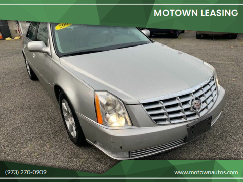 2006 Cadillac DTS for sale at Motown Leasing in Morristown NJ
