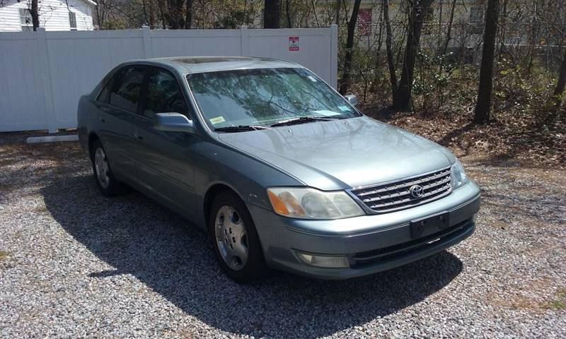 2003 Toyota Avalon For Sale At Coastal Auto Deals LLC In Conway SC