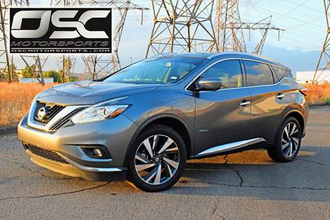 2016 Nissan Murano Hybrid for sale in Chino Hills, CA