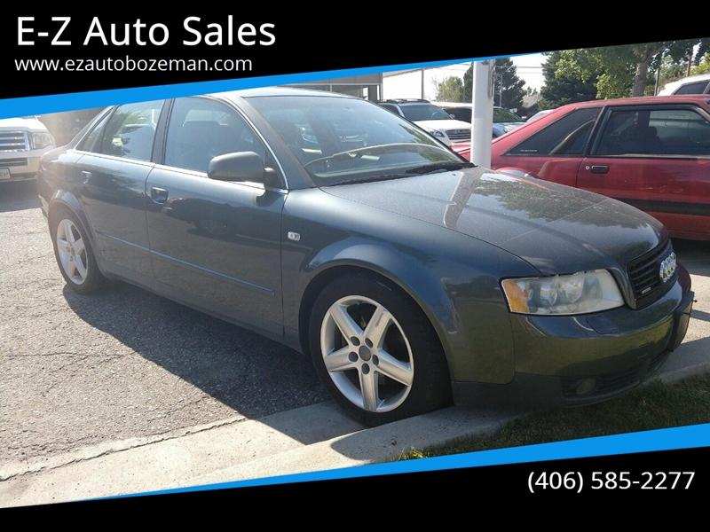 Ez Auto Sales >> E Z Auto Sales Car Dealer In Bozeman Mt