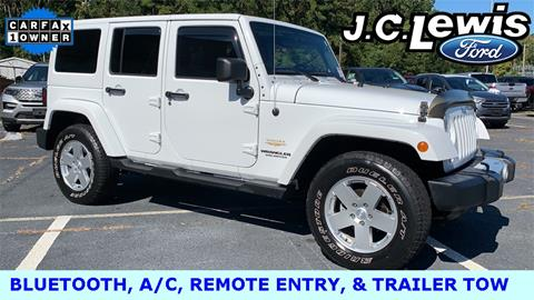 2011 Jeep Wrangler Unlimited for sale in Savannah, GA