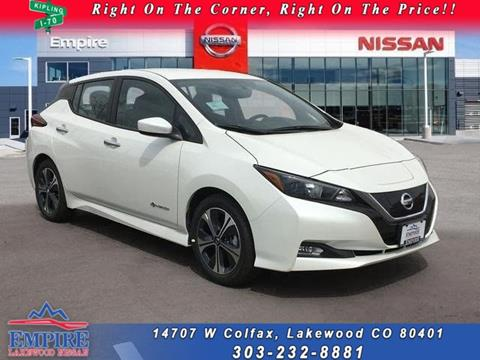 2018 Nissan LEAF For Sale In Lakewood, CO