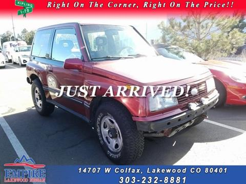 1993 GEO Tracker for sale in Lakewood, CO