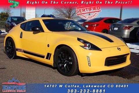 2018 Nissan 370Z for sale in Lakewood, CO