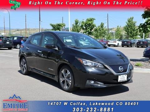 2019 Nissan LEAF for sale in Lakewood, CO