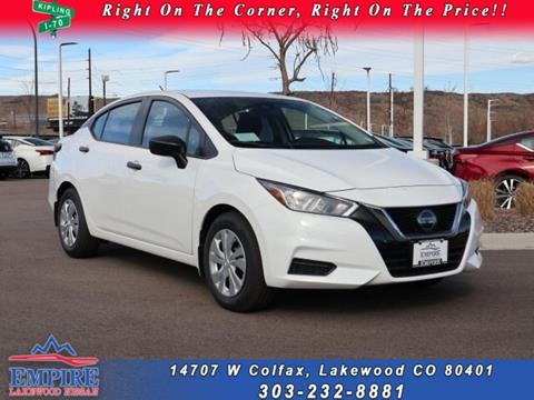 2020 Nissan Versa for sale in Lakewood, CO