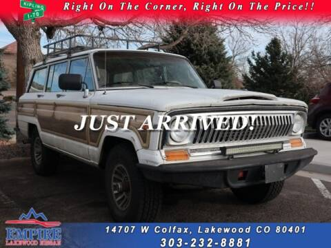 1988 Jeep Grand Wagoneer for sale in Lakewood, CO
