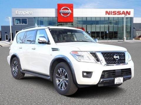2020 Nissan Armada SL for sale at EMPIRE LAKEWOOD NISSAN in Lakewood CO