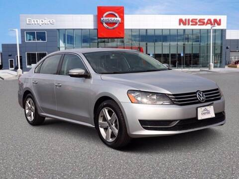 2013 Volkswagen Passat for sale at EMPIRE LAKEWOOD NISSAN in Lakewood CO