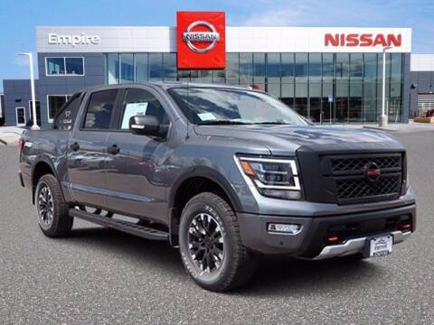 2020 Nissan Titan for sale at EMPIRE LAKEWOOD NISSAN in Lakewood CO