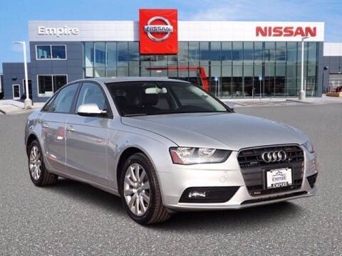2014 Audi A4 for sale at EMPIRE LAKEWOOD NISSAN in Lakewood CO