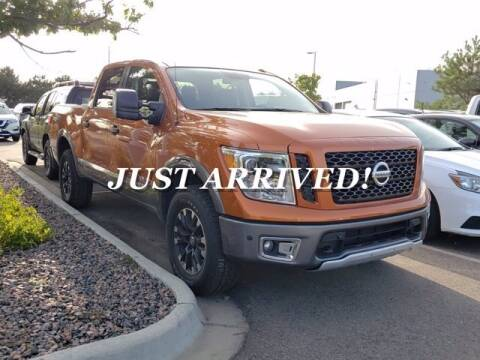 2019 Nissan Titan for sale at EMPIRE LAKEWOOD NISSAN in Lakewood CO