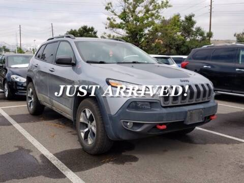 2015 Jeep Cherokee for sale at EMPIRE LAKEWOOD NISSAN in Lakewood CO