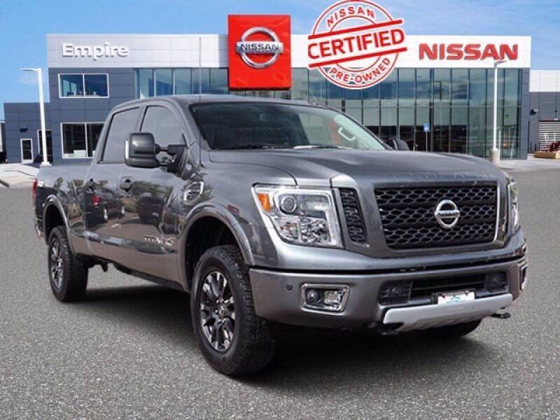 2019 Nissan Titan XD for sale at EMPIRE LAKEWOOD NISSAN in Lakewood CO