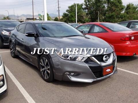 2017 Nissan Maxima for sale at EMPIRE LAKEWOOD NISSAN in Lakewood CO