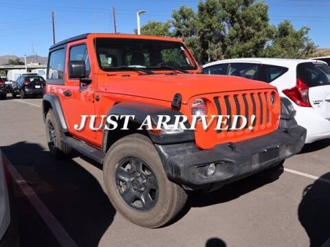 2018 Jeep Wrangler for sale at EMPIRE LAKEWOOD NISSAN in Lakewood CO