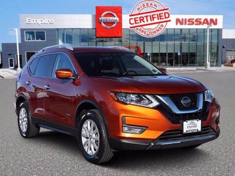 2018 Nissan Rogue Hybrid for sale at EMPIRE LAKEWOOD NISSAN in Lakewood CO