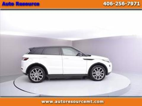 2013 Land Rover Range Rover Evoque for sale in Billings, MT