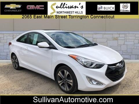 2013 Hyundai Elantra Coupe for sale in Torrington, CT