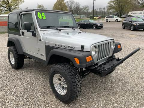 2005 Jeep Wrangler for sale in Rochester, IN
