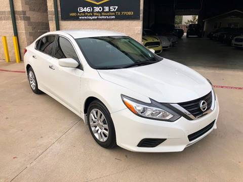 2016 Nissan Altima for sale at KAYALAR MOTORS in Houston TX