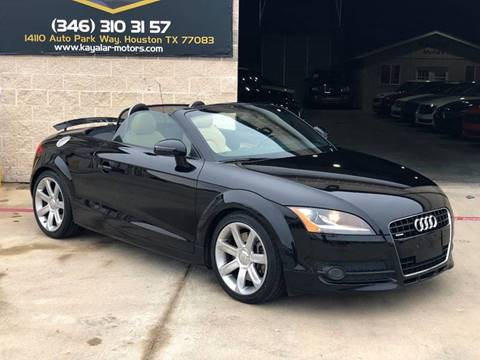 2008 Audi TT for sale at KAYALAR MOTORS in Houston TX