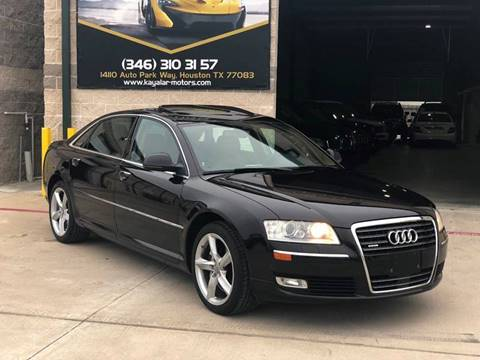 2009 Audi A8 L for sale at KAYALAR MOTORS in Houston TX