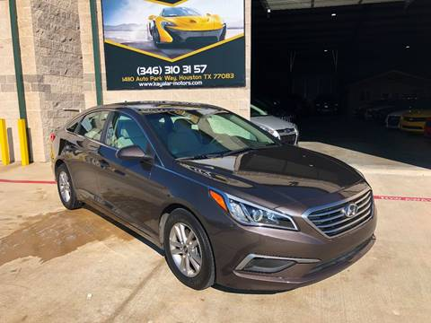 2016 Hyundai Sonata for sale at KAYALAR MOTORS in Houston TX