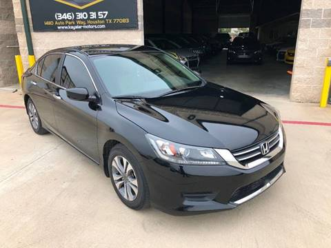 2015 Honda Accord for sale at KAYALAR MOTORS in Houston TX