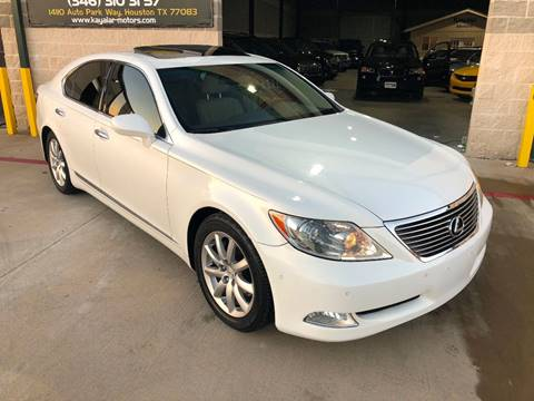 2008 Lexus LS 460 for sale at KAYALAR MOTORS in Houston TX