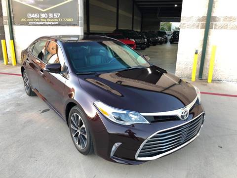 2016 Toyota Avalon for sale at KAYALAR MOTORS in Houston TX