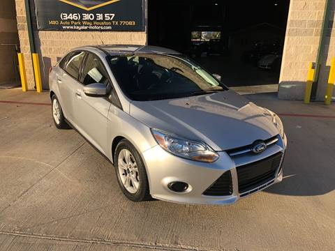 2014 Ford Focus for sale at KAYALAR MOTORS in Houston TX