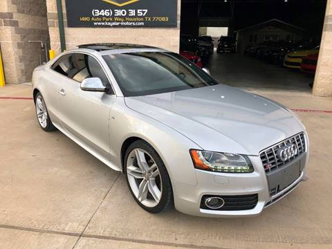 2009 Audi S5 for sale at KAYALAR MOTORS in Houston TX