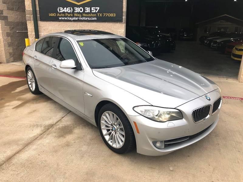 2011 BMW 5 Series 535i In Houston TX - Kayalar Motors